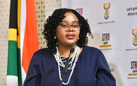 FILE: Tourism Minister Mmamoloko Kubayi-Ngubane. Picture: @Tourism_gov_za/Twitter.