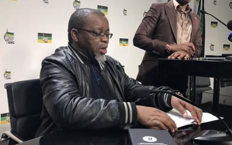 FILE: ANC secretary-general Gwede Mantashe. Picture: Kgothatso Mogale/EWN