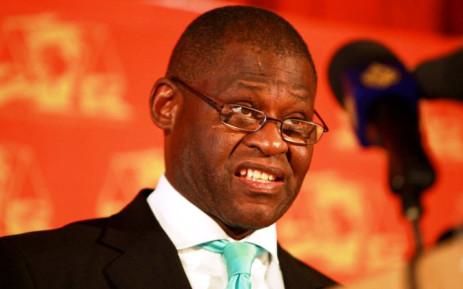 Former NPA head Mokotedi Mpshe. Picture: Sapa.
