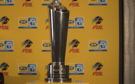 The MTN 8 trophy. Picture: Christa Eybers/EWN.