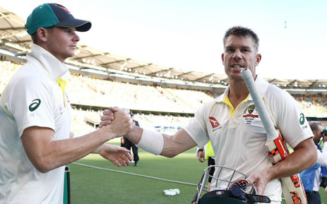 FILE: Steve Smith (left) and David Warner. Picture: @CricketAus/Twitter