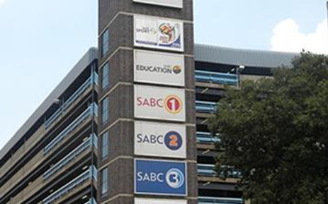 SABC. Picture: Tshepo Lesole/Eyewitness News