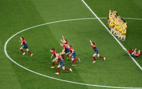Norway beat Australia 4-1. Picture: Twitter.