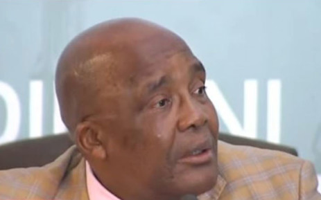 Health Minister Dr Aaron Motsoaledi testifies at the Esidimeni arbitration hearings on 31 January 2018. Picture: YouTube screengrab.