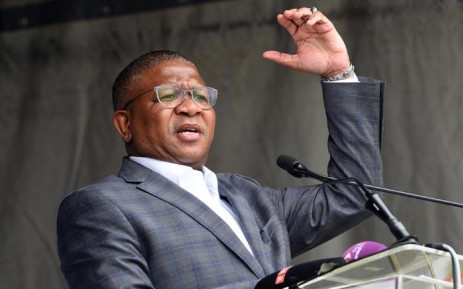 FILE: Former Police Minister Fikile Mbalula launches Operation Fiela II in Johannesburg on 23 January 2018. Picture: GCIS.