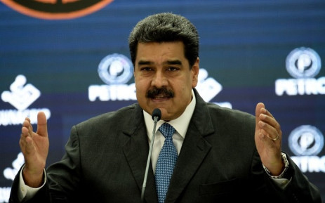 Venezuela's President  Nicolás Maduro delivers a speech during a press conference to launch the international trading of oil-backed cryptocurrency called 'Petro' on 1 October 2018. Picture: AFP.