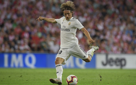 FILE: Real Madrid's Croatian midfielder Luka Modric. Picture: AFP.
