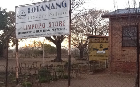 One of the primary schools awaiting textbooks in Limpopo. Picture: Andrea Van Wyk/EWN