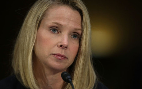 Former CEO of Yahoo Marissa Mayer testifies during a hearing before Senate Commerce, Science and Transportation Committee 8 November 2017. Picture: AFP