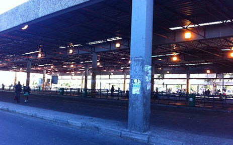 """The Cape Town Bus Terminus was completely deserted on Friday 19 April 2013 as bus drivers embarked on a nationwide strike for higher wages. Picture: Chanel September/EWN"""""""