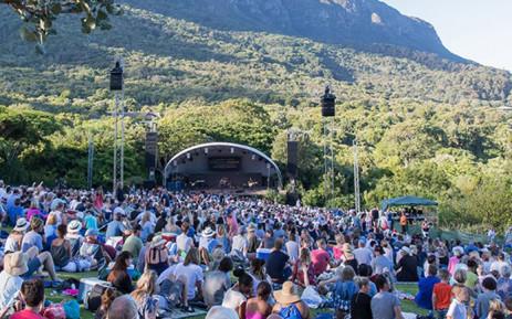 Patrons enjoy a Kirstenbosch Summer Sunset Concerts music event at the Kirstenbosch Botanical Gardens in Cape Town. Picture: @KirstenboschSummerSunsetConcerts/Facebook