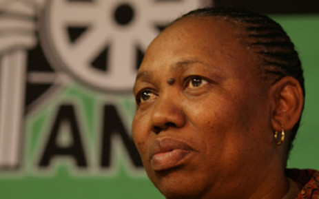 Angie Motshekga, head of the ANC Women's League, says the rape claim against Zwelinzima Vavi needed to be dealt with in court, not internally. Picture: Supplied