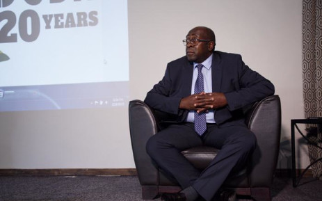 Newly appointed Finance Minister Nhlanhla Nene speaking at his first public event since being reappointed. He addressed a Fedusa gathering in Pretoria on Monday 5 March 2018. Picture: Ihsaan Haffejee/EWN