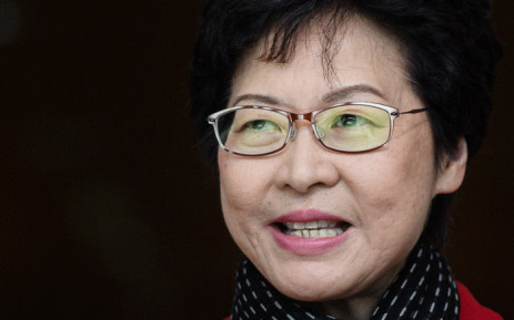 Hong Kong's new chief executive, Carrie Lam. Picture: AFP.