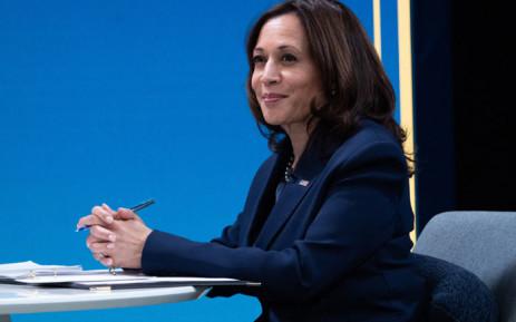 FILE: US Vice President Kamala Harris. Picture: SAUL LOEB/AFP