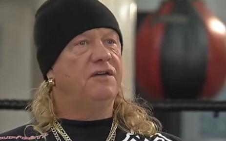 Boxing legend Nick Du Randt. Picture: YouTube screengrab.