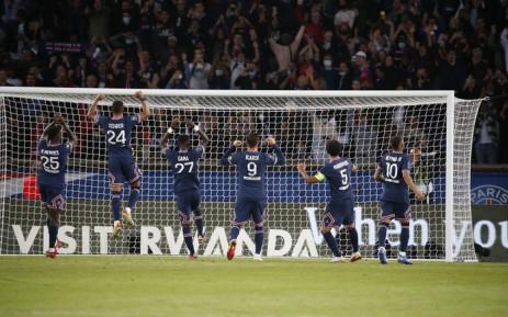 Paris Saint-Germain beat Lyon 2-1 on 19 September 2021. Picture: @PSG_English/Twitter.
