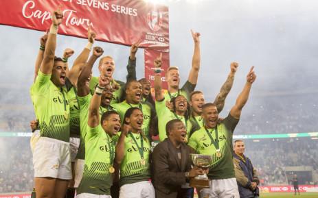 FILE: The Springbok Sevens team. Picture: Picture: Aletta Harrison/EWN.