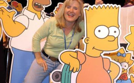 The Simpsons with Nancy Cartwright, the voice of Bart Simpson. Picture: Gallo Images/WireImage