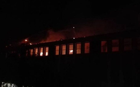 Wynberg Boys' High School was temporarily closed following a fire at the Cape school. Picture: @WynbergBHS/Facebook.