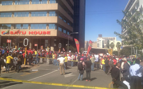 Cosatu's Patrick Craven says it's clear that both sides in this dispute want peace. Picture: Jacob Moshokoa/EWN.
