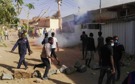 Sudanese protesters demonstrate against their government in the capital Khartoum's district of Burri on 24  February 2019. Picture: AFP