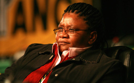 FILE: National Council of Provinces (NCOP) chairperson Thandi Modise. Picture: SAPA.