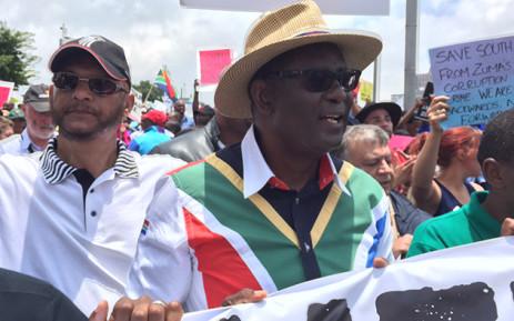 Former Cosatu leader Zwelinzima Vavi.  Picture: Vumani Mkhize/EWN.