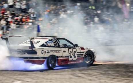 FILE: A race car during a Drift City motor show. Picture: driftcity.co.za