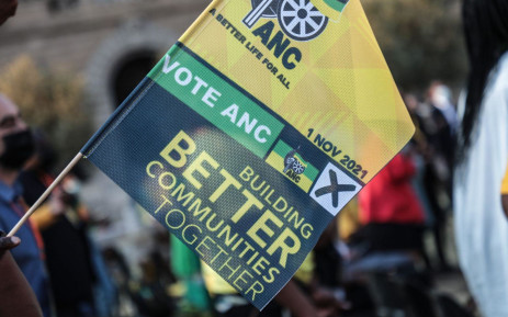 The ANC launched its local government elections manifesto in Tshwane on 27 September 2021. Picture: Abigail Javier/Eyewitness News