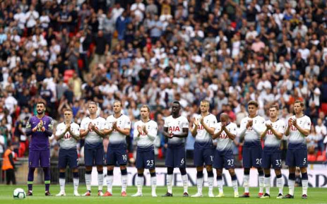 Tottenham Hotspur squad. Picture: @SpursOfficial/Twitter