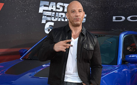 Vin Diesel attends the premiere of 'Fast & Furious 6'. Picture: AFP