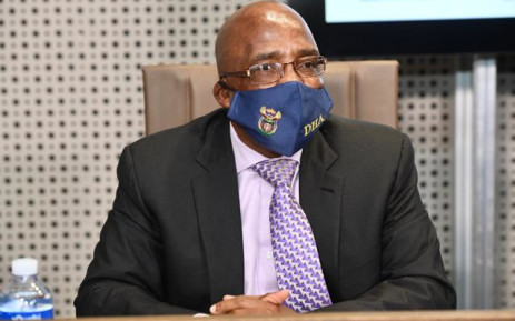FILE: Minister of Home Affairs Aaron Motsoaledi. Picture: GCIS