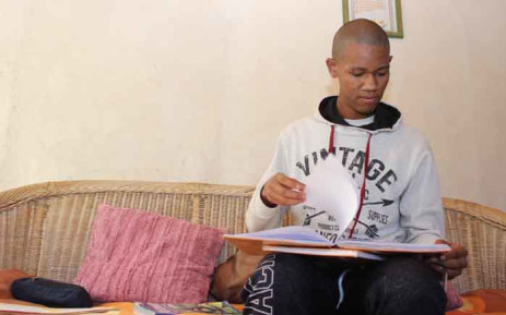 Matric pupil Emile van Rooyen is keen to get back to school on 1 June. Picture: Kaylynn Palm/EWN