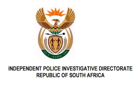 FILE: Picture: www.ipid.gov.za.