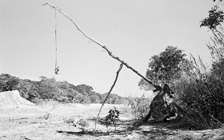 An image by South African photographer Jo Ractliffe, who is currently exhibiting her work, 'The Aftermath of Conflict: Jo Ractliffe's Photographs of Angola and South Africa' at the Metropolitan Museum of Art in Manhattan.