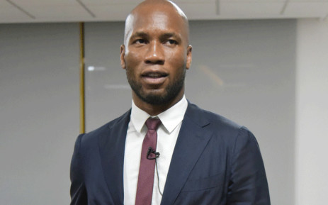 Ivorian retired professional football player Didier Drogba attends CEO Talk, an event organized by international business school HEC Paris in Abidjan on 12 September 2019. Picture: AFP
