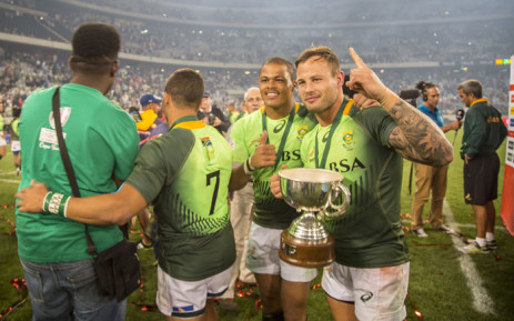 South Africa beat Argentina 29-14 and won the inaugural Cape Town's Sevens event. Picture: Picture: Aletta Harrison/EWN.