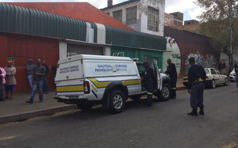 Two South Africans have been killed in a hostel in Jeppestown during the xenophobic attacks on 18 April 2015. Picture: Nomsa Mdhluli/EWN.
