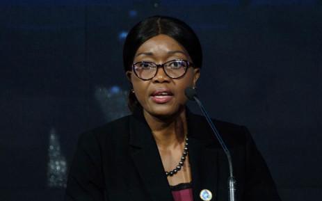 FILE: Namibia's Prime Minister Saara Kuugongelwa-Amadhila. Picture: AFP.