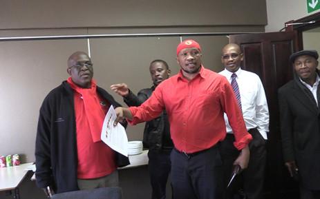 Numsa General Secretary Irvin Jim says his union is taking Cosatu to court, Picture: Vumani Mkhize/EWN.