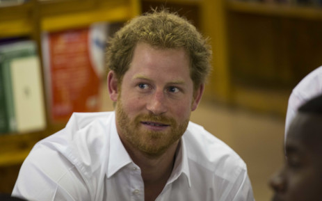 Prince Harry visits the Siyabonga Secondary School in Soweto as one of the last stops of his South African visit.  Picture: Christa Eybers/EWN