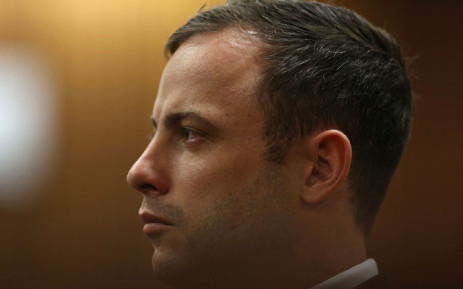 Oscar Pistorius at the High Court in Pretoria on 12 September 2014 where he was found guilty of culpable homicide. Picture: Pool.