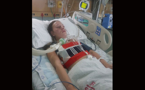 Bianca Ackhurst was diagnosed with Guillain-Barré syndrome. Picture: Supplied.