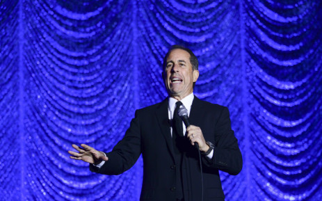 Jerry Seinfeld performs during Philly Fights Cancer: Round 4 at The Philadelphia Navy Yard on 10 November 2018 in Philadelphia, Pennsylvania. Picture: AFP