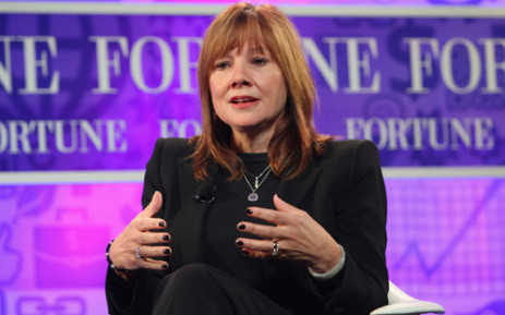 Newly appointed CEO of General Motors Mary Barra. Picture: AFP.