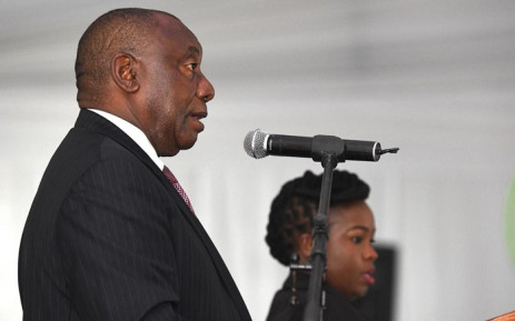 President Cyril Ramaphosa at the opening of the new magistrates court in Booysens. Picture: @GovernmentZA/Twitter