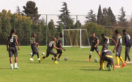 FILE: Kaizer Chiefs players in training. Picture: Vumani Mkhize/EWN.