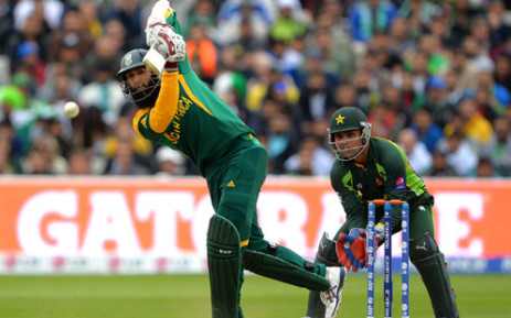 FILE: Proteas's Hashim Amla in action. Picture: AFP.