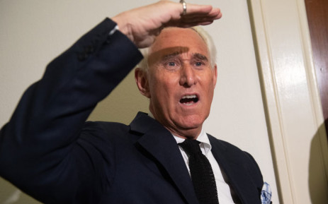 Political Strategist Roger Stone stands outside the hearing room prior to testimony by Google CEO Sundar Pichai during a House Judiciary Committee hearing on Capitol Hill in Washington, DC, 11 December 2018. Picture: AFP